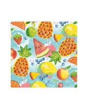 Tropical Fruits Servietten 20 Stück