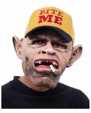 Trucker Hillbilly Maske mit Baseball Cap