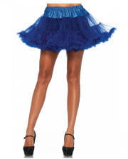 Leg Avenue Petticoat Royal Blau