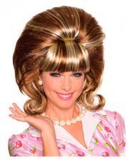 Tupierte Miss Conception Perücke Rot-Blond