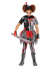 Creepy Circus Clown Children Costume