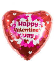 Happy Valentins Day Folienballon