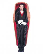 Vampir im Sarg Kostüm