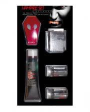 Vampir-Kit mit Zähnen/Blut/Linsen