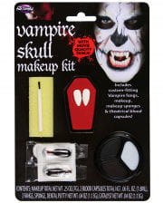 Vampir Totenkopf Make-up Kit