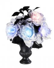 Vase With Shining Roses