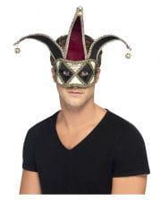 Venezianische Harlekin Augenmaske