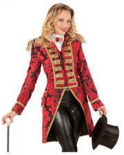 Venezianischer Damenfrack rot-gold