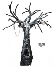 Verzauberter Halloweenbaum 180 x 200 cm