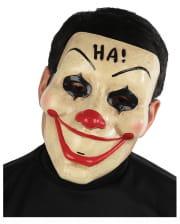 Vintage Horror Clown Face Mask
