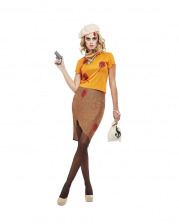 30s Bonnie Gangster Lady Costume