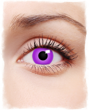 Violette Kontaktlinsen