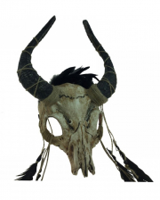 Voodoo Bison Totenschädel Maske