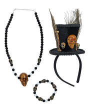 Voodoo Shaman Costume Accessories Set