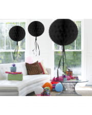 Honeycomb Ball Black 30cm