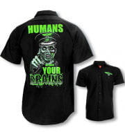 Zombie Männerhemd