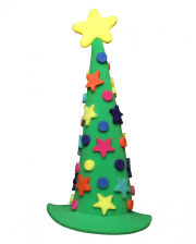 Christmas Tree Foam Hat