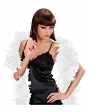 White Feather Boa 180 Cm
