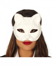 White Cat Mask