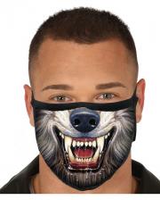 Werewolf 3 Layer Everyday Mask