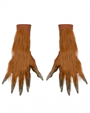 Werewolf Gloves Brown