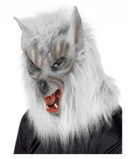 Werewolf Mask silver gray