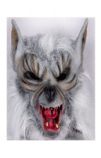 Werewolf mask with fur