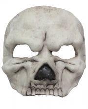 White Skull Eye Mask