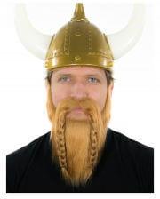 Wikinger Bart Dunkelblond