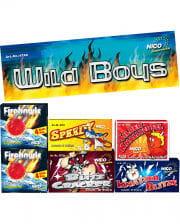 Wildboys Jugendfeuerwerk 6-fach sortiert