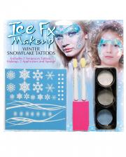 Winter Schneeflocken Make Up Kit