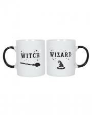 Witch & Wizard Kaffeebecher Set