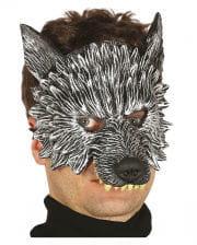 Wolf Halbmaske