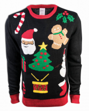 X-Mas Motives Christmas Sweater