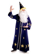 Wizard Men Costume blue