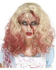 Blutige Zombie Alice Perücke