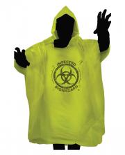 Zombie Biohazard Rain Poncho