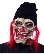 Zombie Clown Maske
