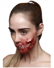 Zombie eating latex wound