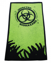 Zombie Infected Bath Towel