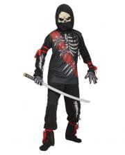 Zombie Ninja Kids Costume
