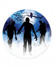 Zombie Party Pappteller 8 Stück