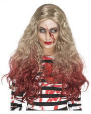 Zombie Wig With Bloody Spikes