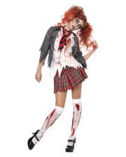 Zombie Schoolgirl Kostm