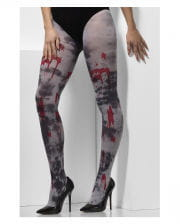 Zombie Pantyhose With Blood