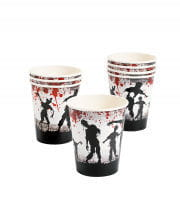 Zombie Party Paper Cups