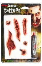 Zombie Tattoo Wunden