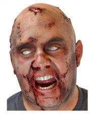 Zombieschädel Glatzenfolie