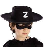 Zorro Hut für Kinder