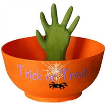Scary Bonbon Schüssel grapschende Hand